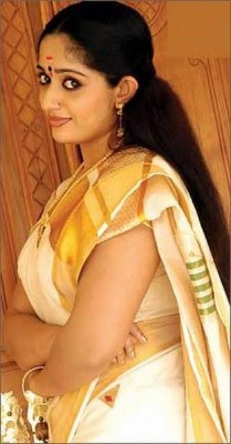 Kerala Saree Kavya Madhavan