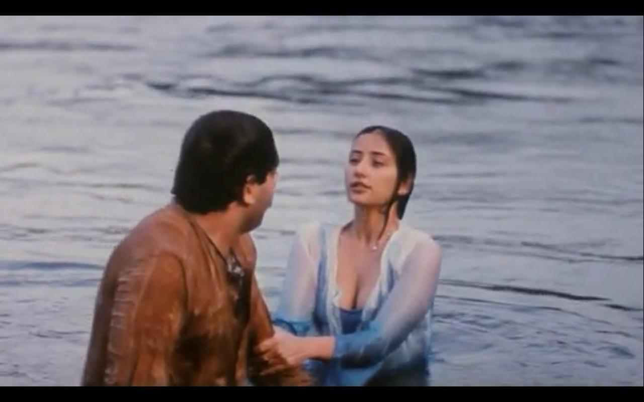 Manisha Koirala Hot Wet Boobs And Cleavage Compilation -6869