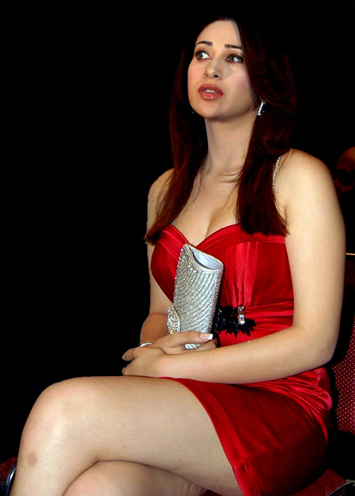 Karishma Kapoor Red Hot Thunder Inner Thighs And Milky Cleavage  Asin-8100