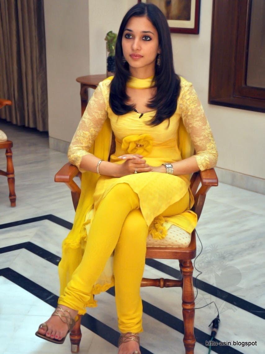 image Sexy tight salwar kameez